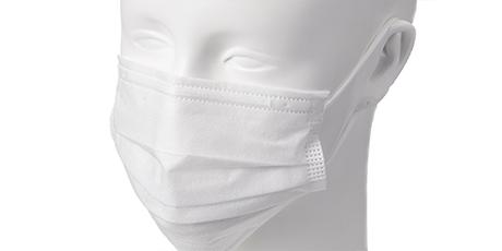 三層構造不織布マスク