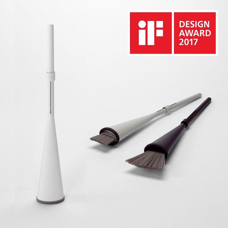 2017年 iF design award受賞 「立つほうき」